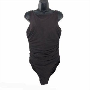 Miraclesuit One Piece Swimsuit Brown Solid 18DD
